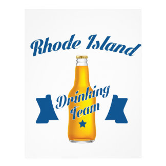 Rhode Island Drinking team Letterhead