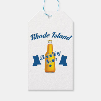 Rhode Island Drinking team Pack Of Gift Tags