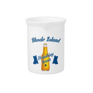 Rhode Island Drinking team Pitcher
