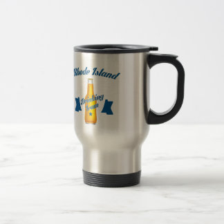 Rhode Island Drinking team Travel Mug