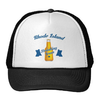 Rhode Island Drinking team Trucker Hat