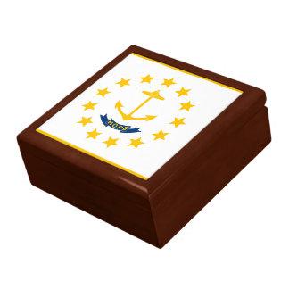 Rhode Island Flag Gift Box