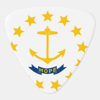 Rhode Island Flag Guitar Pick