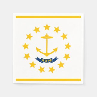 Rhode Island Flag Napkin