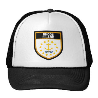 Rhode Island Flag Trucker Hat