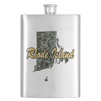 Rhode Island Flask