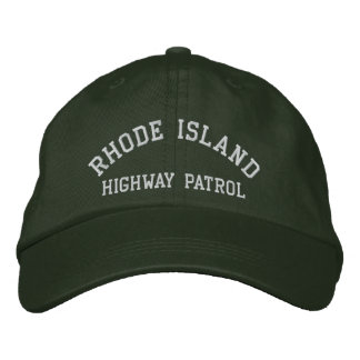 Rhode Island, HIGHWAY PATROL Embroidered Baseball Cap