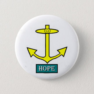Rhode Island Hope Anchor 2 Inch Round Button
