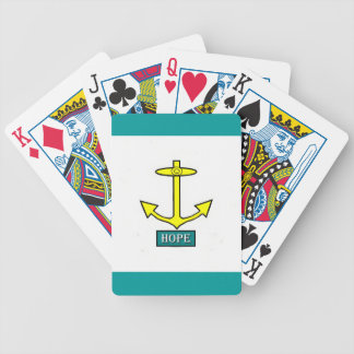 Rhode Island Hope Anchor Bicycle Playing Cards
