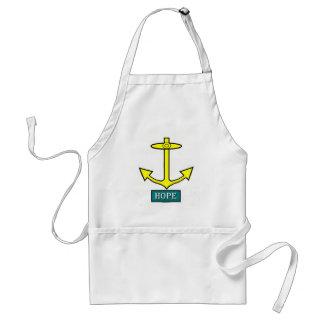 Rhode Island Hope Anchor Standard Apron