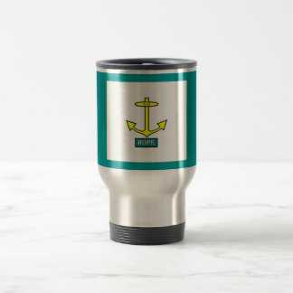 Rhode Island Hope Anchor Travel Mug