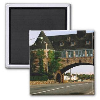 Rhode Island House Magnet