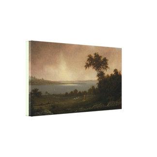 Rhode Island Landscape by Martin Johnson Heade Canvas Print