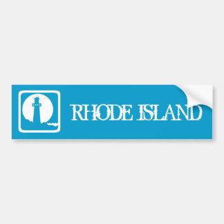 Rhode Island Lighthouse Bumper Sticker