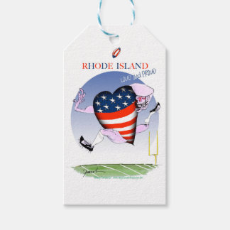 rhode island loud and proud, tony fernandes pack of gift tags