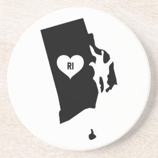 Rhode Island Love Coaster