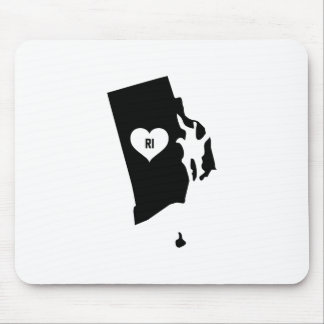 Rhode Island Love Mouse Pad