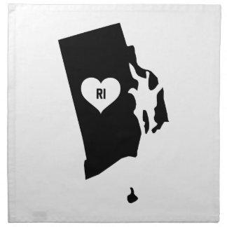 Rhode Island Love Napkin