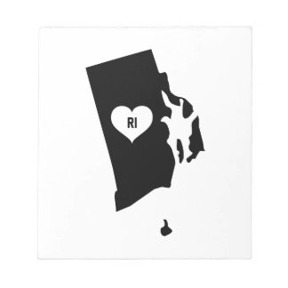 Rhode Island Love Notepad