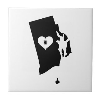 Rhode Island Love Tile