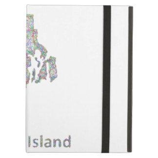 Rhode Island map iPad Air Case