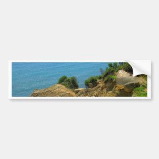 Rhode Island Mohegan Bluffs Bumper Stickers