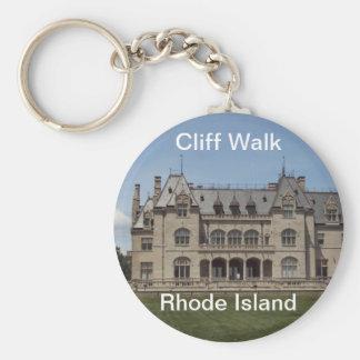 Rhode Island Moments Basic Round Button Keychain