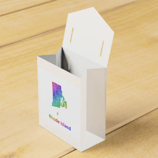Rhode Island Party Favor Boxes