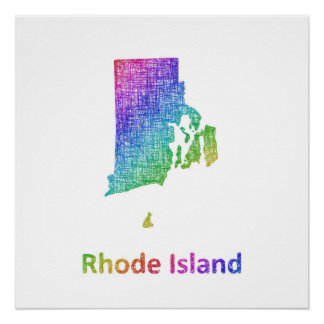 Rhode Island Perfect Poster