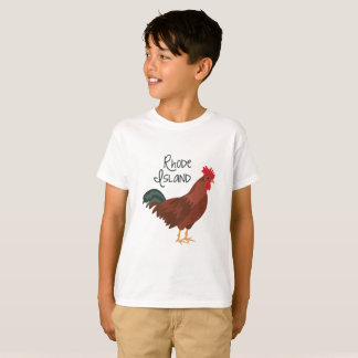 Rhode Island Red Chicken State Bird T-Shirt