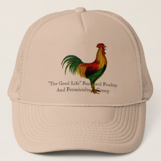 Rhode Island Red Rooster Trucker Hat