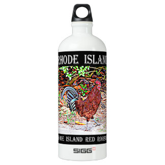 Rhode Island Red Rooster Water Bottle