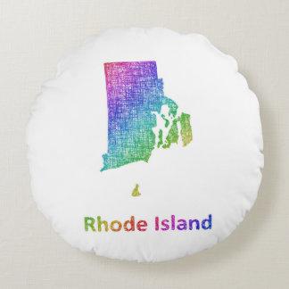 Rhode Island Round Pillow