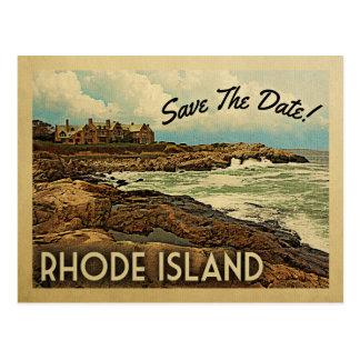 Rhode Island Save The Date Vintage Postcards
