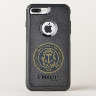 Rhode Island Seal OtterBox Commuter iPhone 8 Plus/7 Plus Case