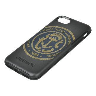 Rhode Island Seal OtterBox Symmetry iPhone 8/7 Case