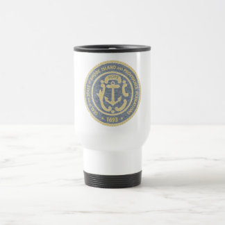 Rhode Island Seal Travel Mug