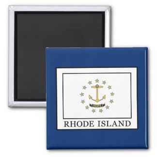 Rhode Island Square Magnet