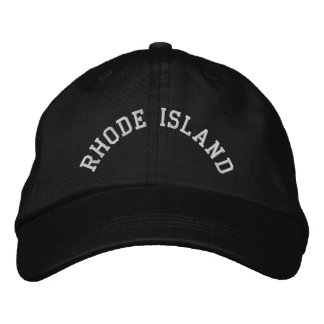 Rhode Island State Embroidered Embroidered Baseball Cap
