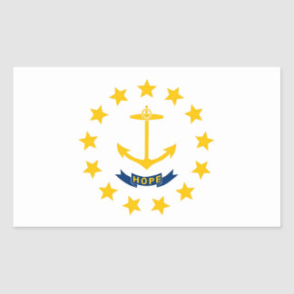 Rhode Island State Flag Sticker