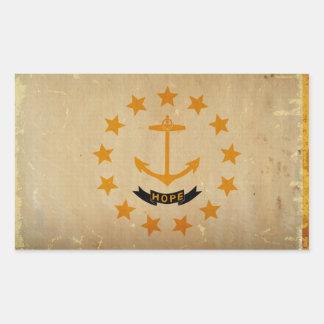 Rhode Island State Flag VINTAGE