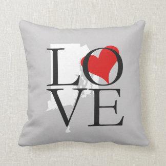 Rhode Island State Love Pillow