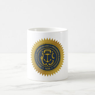 Rhode Island state seal america republic symbol fl Coffee Mug