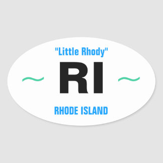RHODE ISLAND stickers (4)
