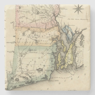 Rhode Island Stone Coaster