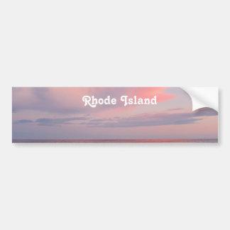 Rhode Island Sunset Bumper Sticker