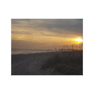 Rhode Island Sunset Canvas Print