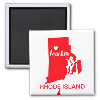 Rhode Island Teacher Magnet