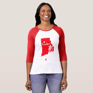 Rhode Island Teacher Tshirt (Red)
