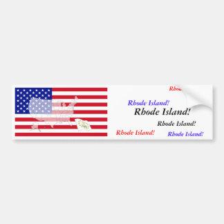 Rhode Island, USA Bumper Sticker